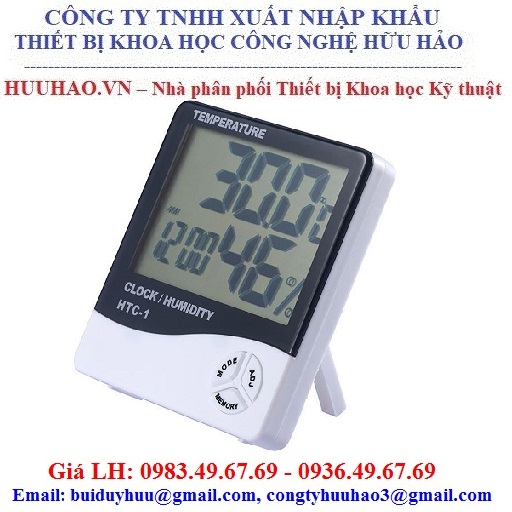 Máy đo nhiệt độ độ ẩm HTC-1