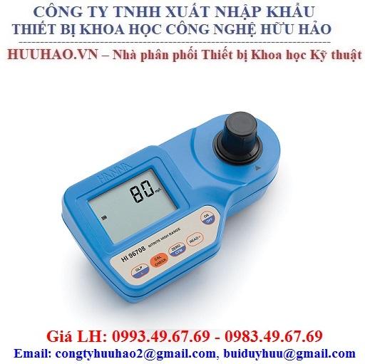 Máy đo Nitrite HANNA HI96707, HI96708