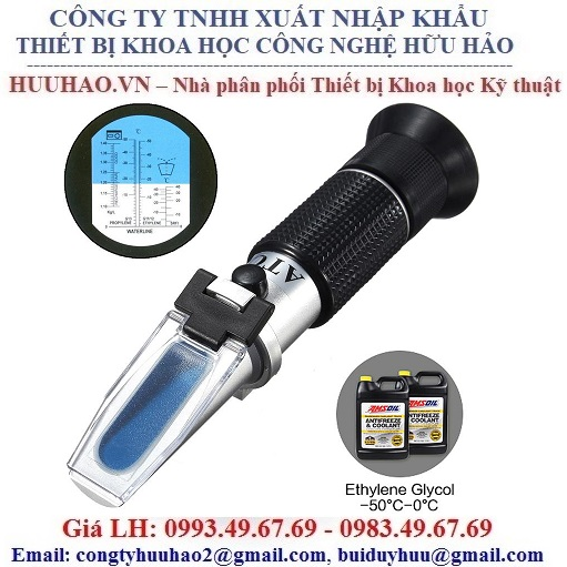 Thiết bị kiểm tra độ đông đặc và nồng độ chất làm mát RHA-503