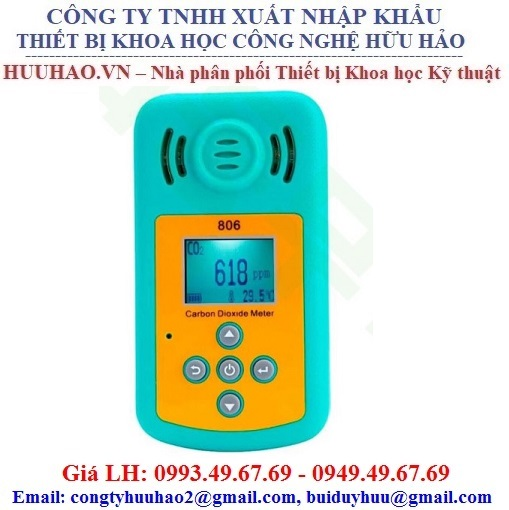Máy đo nồng độ khí CO2 không khí KXL-806