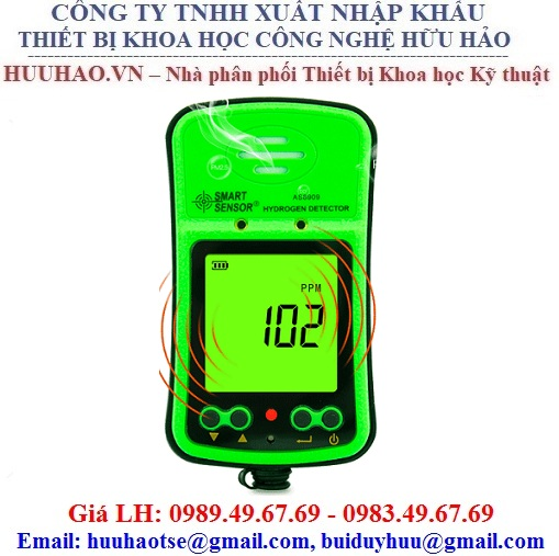 Máy đo nồng độ khí hydro (H2) công nghiệp AS8909