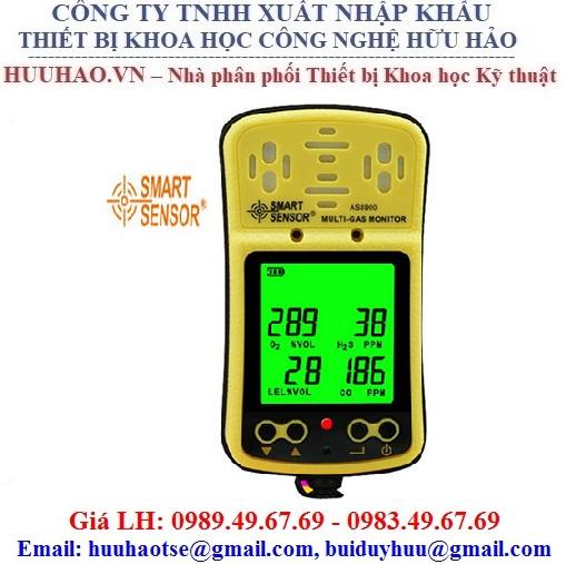 Máy đo nồng độ khí O2, CO, H2S, LEL AS8900