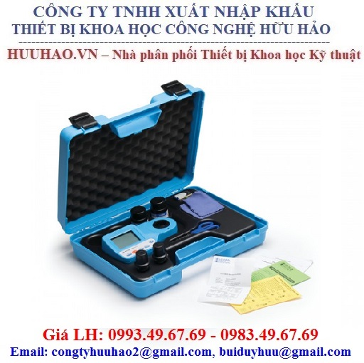Máy đo nồng độ sắt HANNA HI 96746, HI96746C