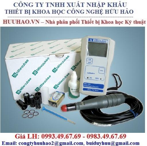 Máy đo DO điện tử cầm tay MILWAUKEE MW600