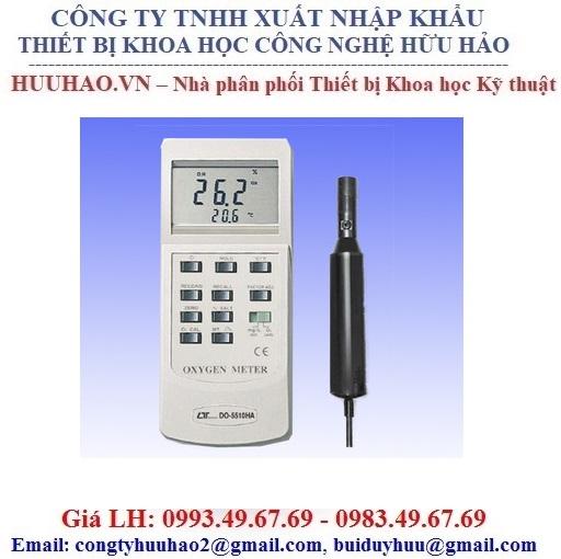 Máy đo nồng độ Oxy hòa tan Lutron DO 5510 HA