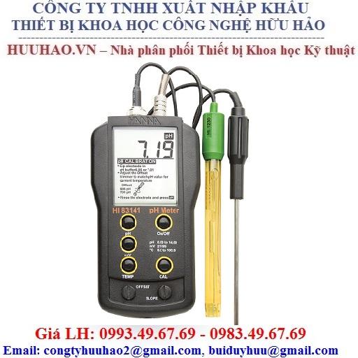 Máy đo pH/ORP/nhiệt độ cầm tay Hanna HI 83141