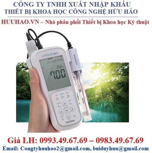 Máy đo pH, ORP, Nhiệt độ cầm tay D-72G Horiba