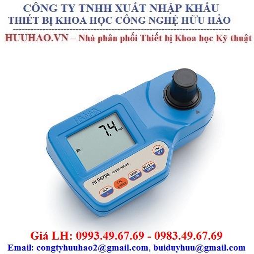 Máy đo PH, Clo dư và Clo tổng Hanna HI96710