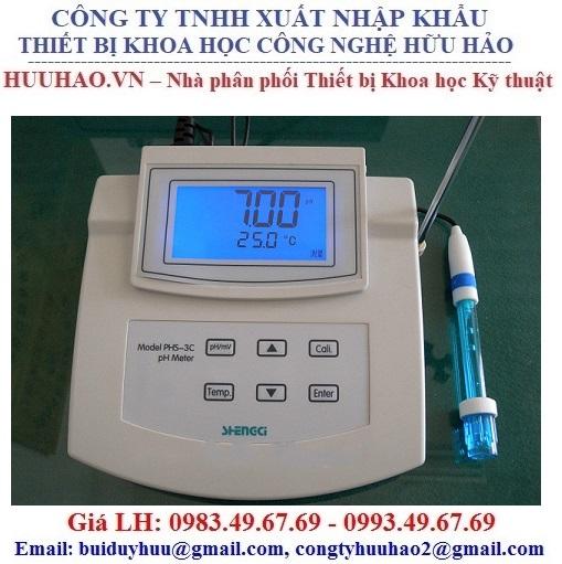 Máy đo pH, mV để bàn PHS-3C