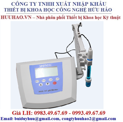 Máy đo pH để bàn PHS-3CT, PHS-3C, PHS-25