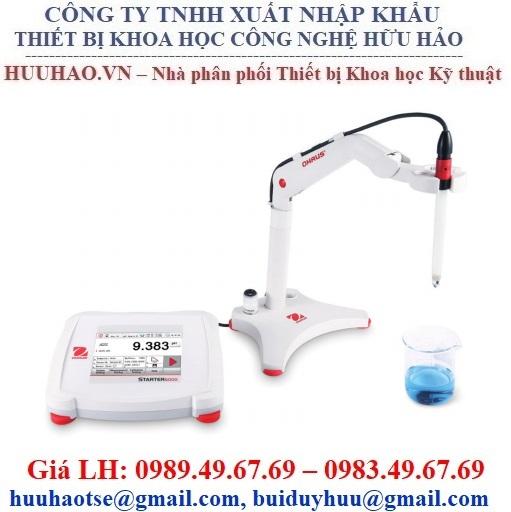 Máy đo pH để bàn Ohaus Starter 5000