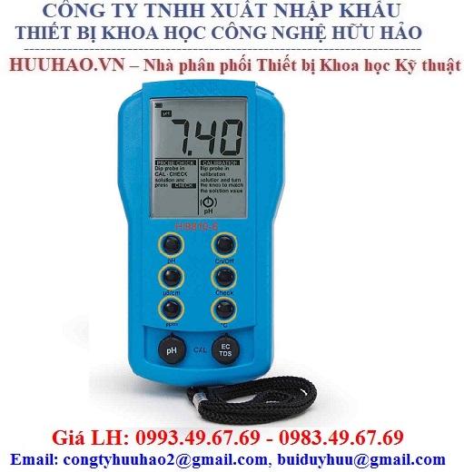 Máy Đo pH/EC/TDS bỏ túi Hanna HI9810-6
