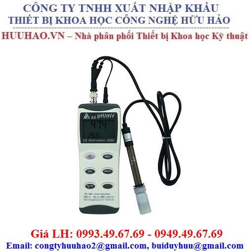 Máy đo pH nhiệt đô cầm tay AZ 8601