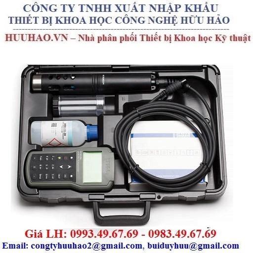Máy đo pH/ORP/EC/TDS/độ mặn/DO/áp suất/ nhiệt độ Hanna HI98194