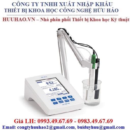 Máy đo PH/ORP/EC/TDS/ISE/NaCl/Điện trở suất Hanna HI5522-02