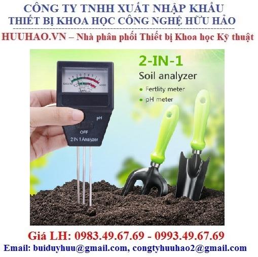 Máy đo pH đất và độ dinh dưỡng của đất Doctor Plant