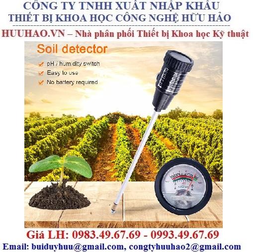 Máy đo pH đất và độ ẩm đất cầm tay TPH-HH