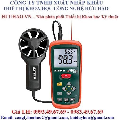 Máy đo nhiệt độ, tốc độ, lưu lượng gió EXTECH AN200