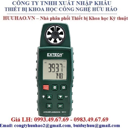 Máy đo nhiệt độ, tốc độ, lưu lượng gió EXTECH AN510