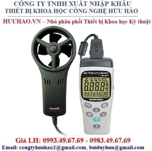 Máy đo tốc độ gió cầm tay Tenmars TM-404