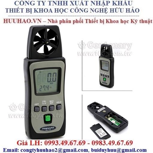 Máy đo tốc độ gió cầm tay Tenmars TM-740