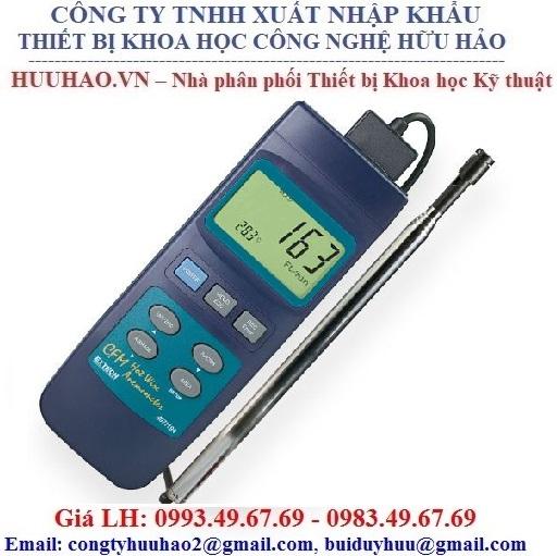 Máy đo tốc độ, lưu lương gió và nhiệt độ EXTECH 407119
