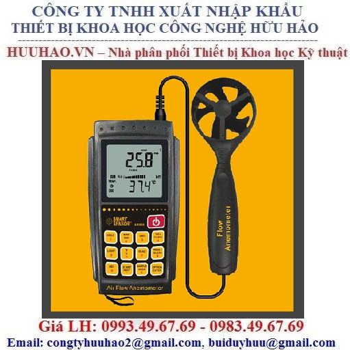 Máy đo tốc đô, lưu lượng, nhiệt độ gió SmartSensor AR856