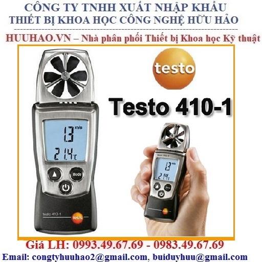 Máy đo tốc độ gió, nhiệt độ testo 410-1