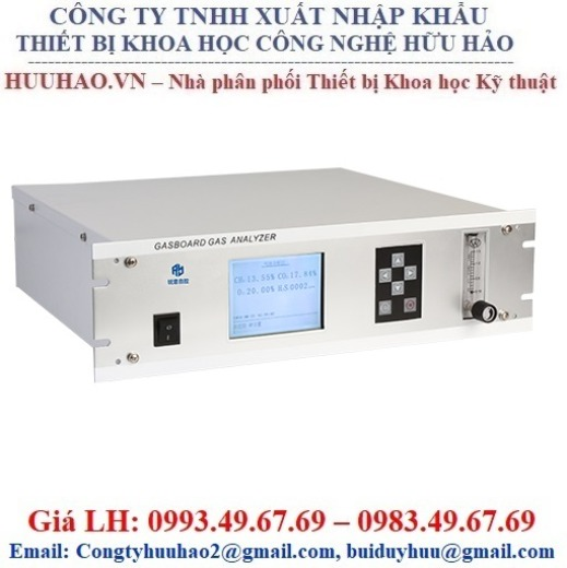 Máy phân tích khí biogas online Gasboard-3200