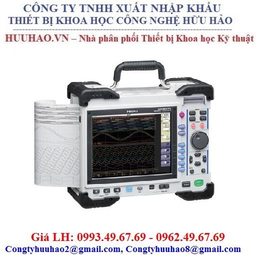 Bộ ghi dữ liệu tốc độ cao Hioki MR8847A (20 MS/s, 16 kênh)