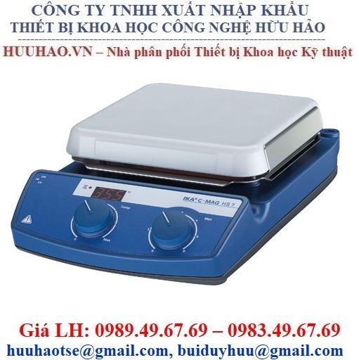 Máy khuấy từ gia nhiệt IKA C-MAG HS 7
