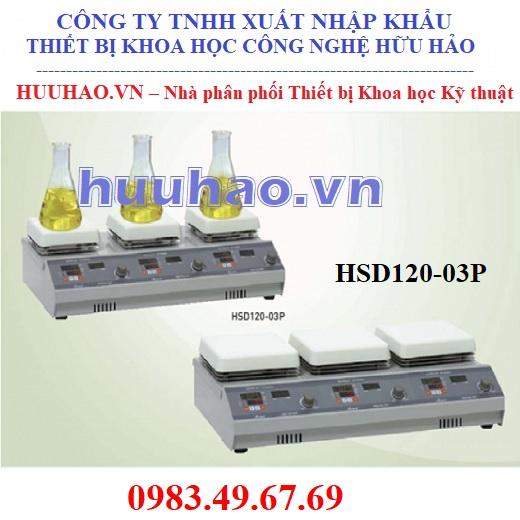 Máy khuấy từ gia nhiệt HSD120-03P