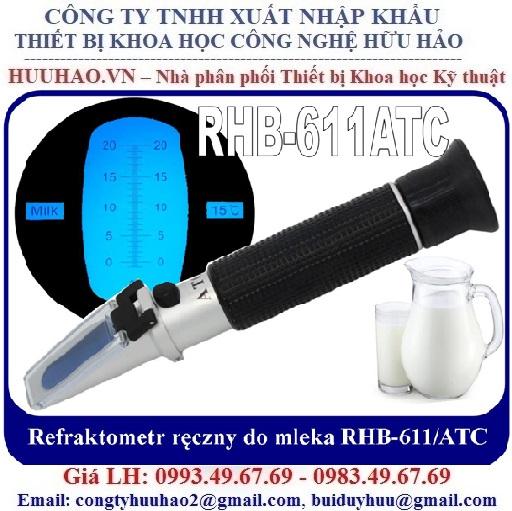 Máy kiểm tra nồng độ sữa tươi, Sữa hộp, Sữa bột RHB-611
