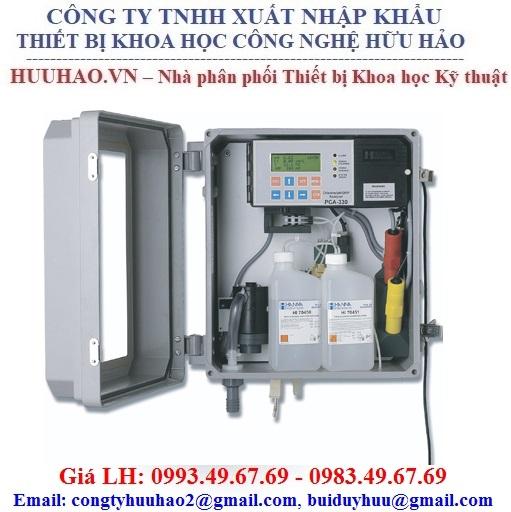 Máy phân tích clo tự do và tổng HANNA PCA 310-2
