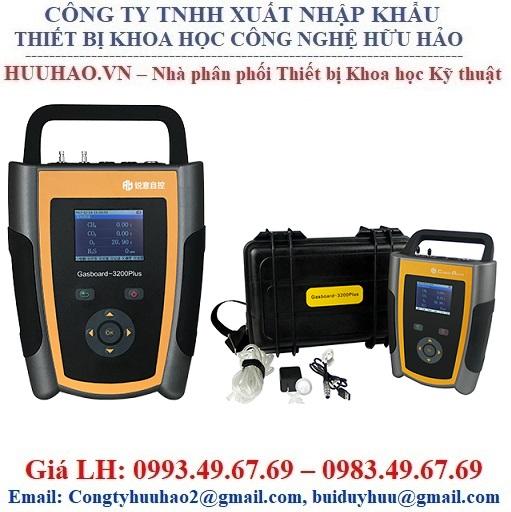 Máy đo và phân tích khí BIOGAS Gasboard-3200Plus