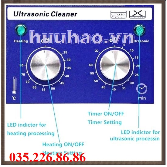 Ultrasonic cleaner Derui