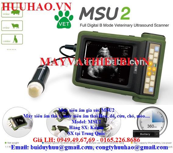 Máy siêu âm gia súc MSU2
