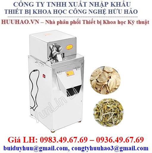 Máy thái cắt lát thảo dược 30-100 Kg/giờ
