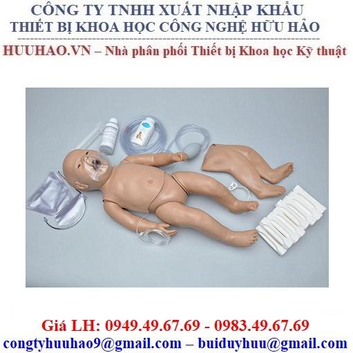 Mô hình thực hành đào tạo CPR trẻ sơ sinh Gaumard S104.PK