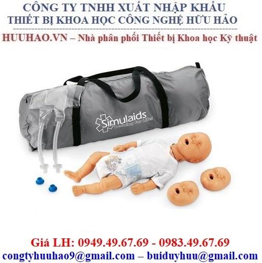 Mô hình thực hành cấp cứu CPR cơ bản Nasco 100-2901U