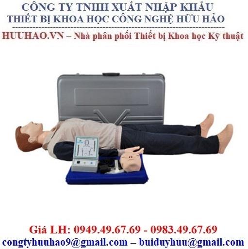 Mô hình sơ cấp cứu toàn thân có hộp điều khiển CPR280