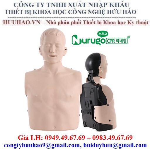 MÔ HÌNH HỒI SỨC TIM PHỔI CPR NURUGO