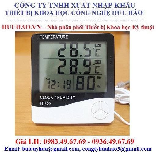 Máy đo nhiệt độ độ ẩm HTC-2