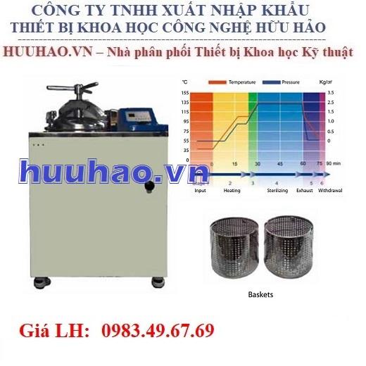 Nồi hấp tiệt trùng Humanlab DAC-45, DAC-60, DAC-80, DAC-100
