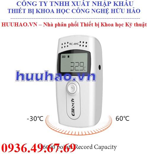 Nhiệt ẩm kế tự ghi RC-4HC