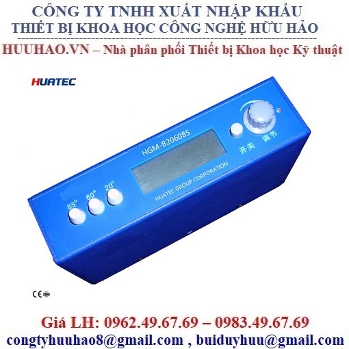 Máy đo độ bóng bề mặt Huatec HGM-B206085