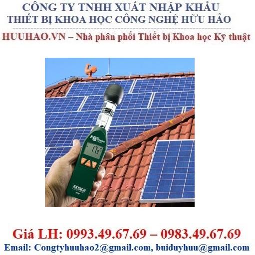 Máy đo bức xạ nhiệt độ mặt trời Extech HT30