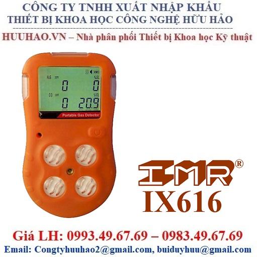 Máy dò đo khí 4 chỉ tiêu IMR IX616 (O2, CO, H2S, CH4)