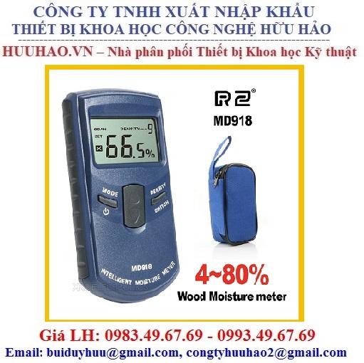 Máy đo độ ẩm cho gỗ cảm ứng MD918