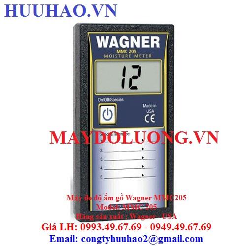 Máy đo độ ẩm gỗ Wagner MMC205